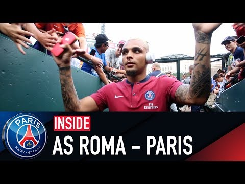 INSIDE - AS ROMA VS PARIS SAINT-GERMAIN