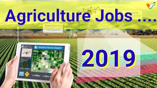 Govt Jobs 2019 #Central and state # Agriculture # Horticulture and allied sciences.
