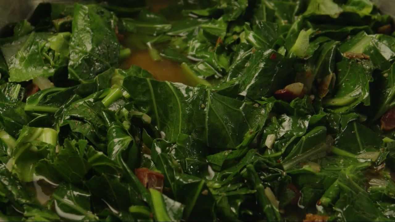 How to make collard greens vegetarian