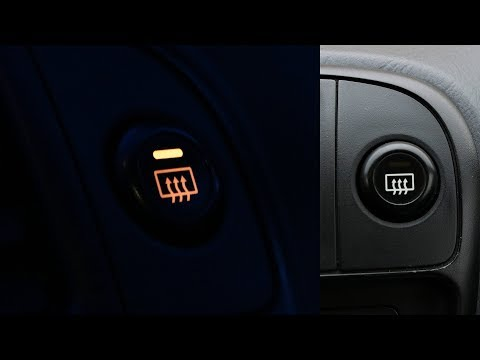 Honda Civic - Rear Window Defroster Button Lights Replacement