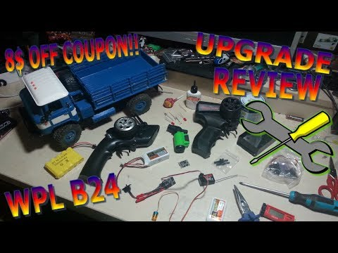 WPL B24 CRAWLER UPGRADE REVIEW