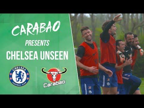 Mini World Cup Winners Giroud, Alonso, Cahill, Pedro & Eduardo | Chelsea Unseen