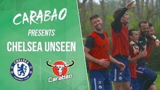 Mini World Cup Winners Giroud, Alonso, Cahill, Pedro & Eduardo | Chelsea Unseen