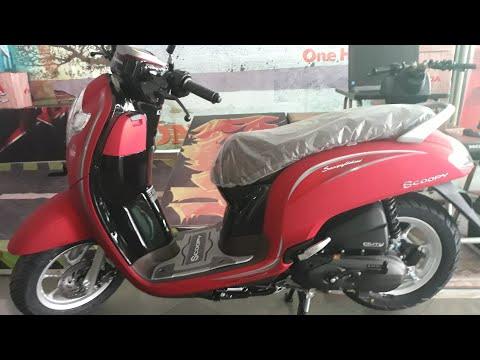 Resmi Rilis Inilah New Honda Scoopy 2018 Punya 2 Varian 7 Warna