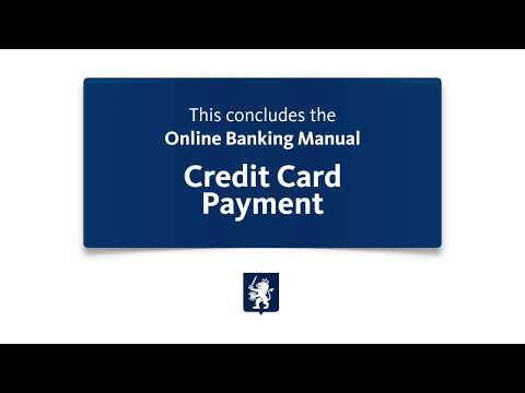 MCB Online Banking Credit Card Payment