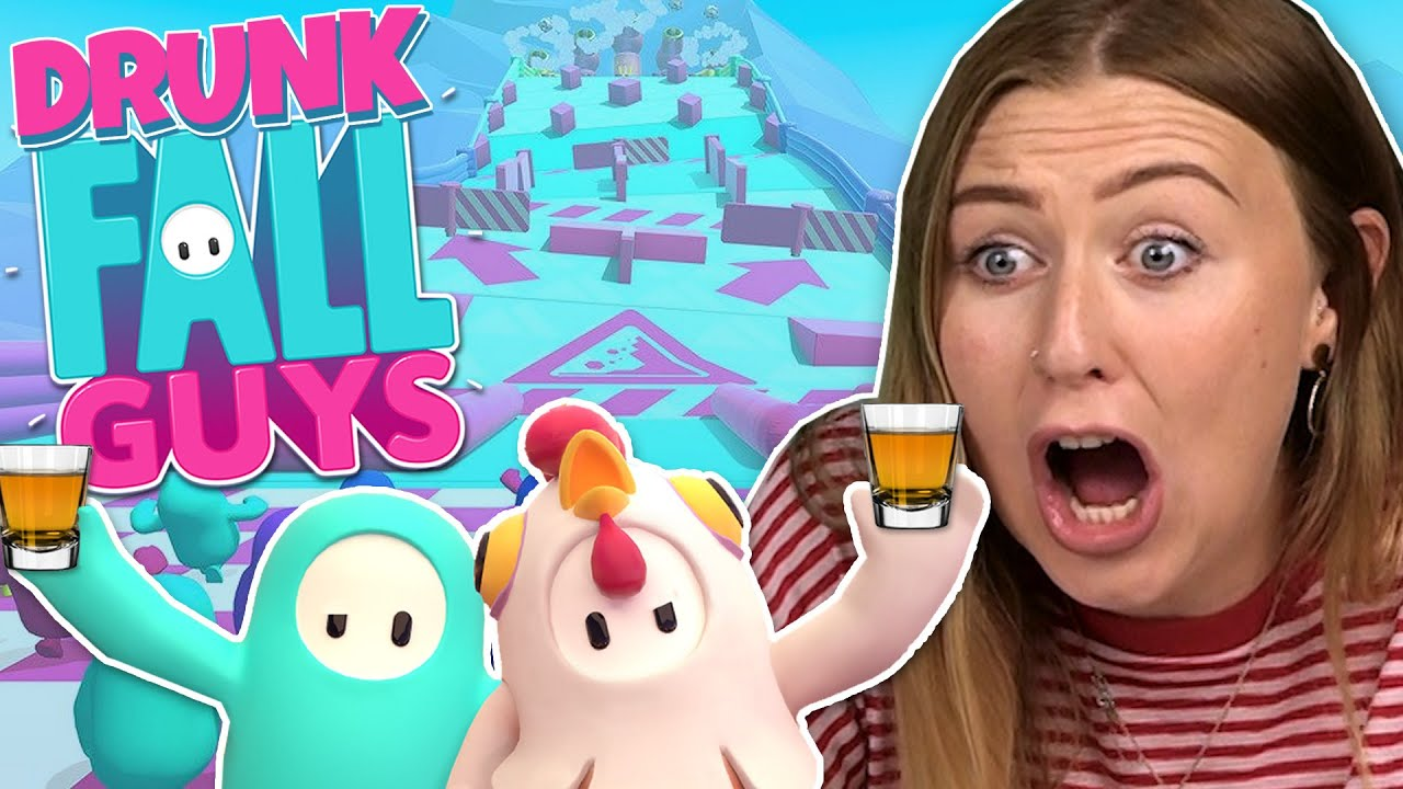 DRUNK OBSTACLE COURSE - Drunk Irish People Play Fall Guys