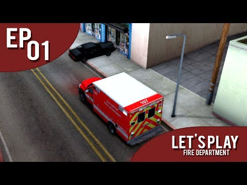 [AD:RP] Let's Play EP01 [Los Santos Fire Department]