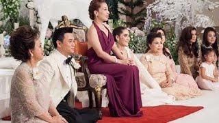 Repeat youtube video พระองค์เจ้าพัชรกิติยาภา เสด็จฯ งานแต่งชมพู่-น็อต #nottchomthewedding