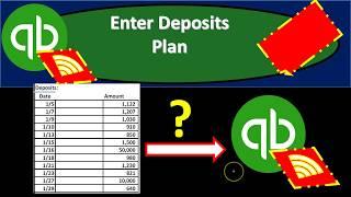 QuickBooks Online 2019-Enter Deposits From Bank Statement to Register