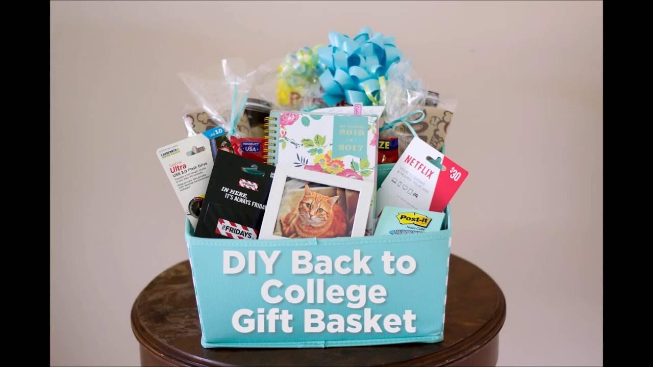 Diy back to college gift basket youtube diy back to college gift basket negle Choice Image