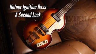 Hofner Ignition Bass. Additional German Upgrades.