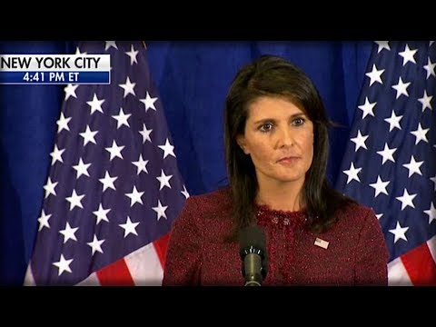 NIKKI HALEY DROPPED MIC ON UN BY ANNOUNCING THE INSANE THING WE DROPPED ON NORTH KOREA