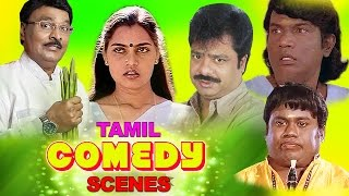 Tamil Comedy Scenes | Bhagyaraj | Silk Smitha | Senthil | Goundamani | Tamil Best Comedy Collections