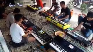 dangdut jaman now alat musik pakai keyboard semua latihan dangdut part 2