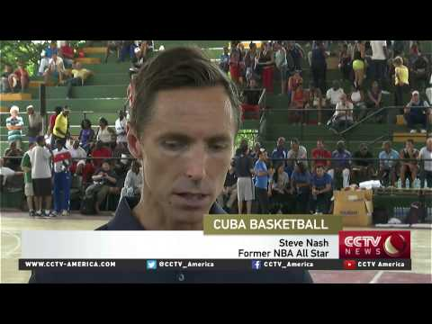 NBA players helps train athletes in Cuba