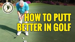 HOW TO PUTT BETTER IN GOLF  - DISTANCE CONTROL