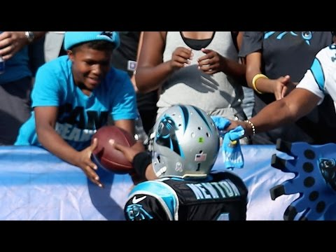 Raiders Fan Slaps Kid In The Face
