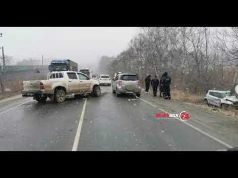 Жительница Романовки погибла в автокатастрофе в районе Артема