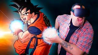 Dragon ball Super en Realidad Virtual - Goku vs Jiren en VRCHAT (Oculus Rift cv1)