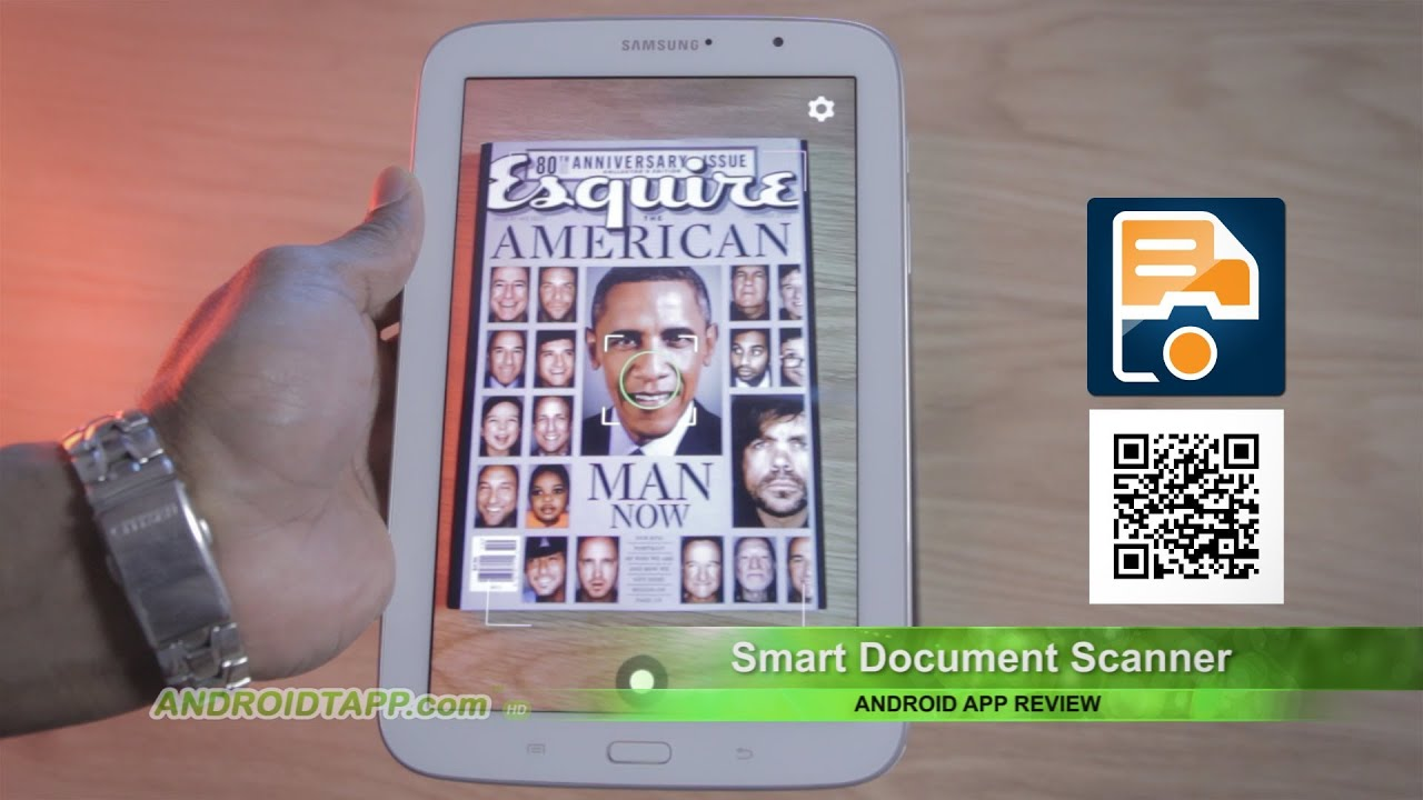 smart document scanner android app review youtube