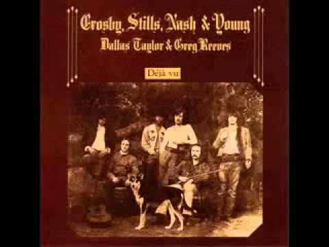 Crosby, Stills, Nash & Young--Our House--With Chords