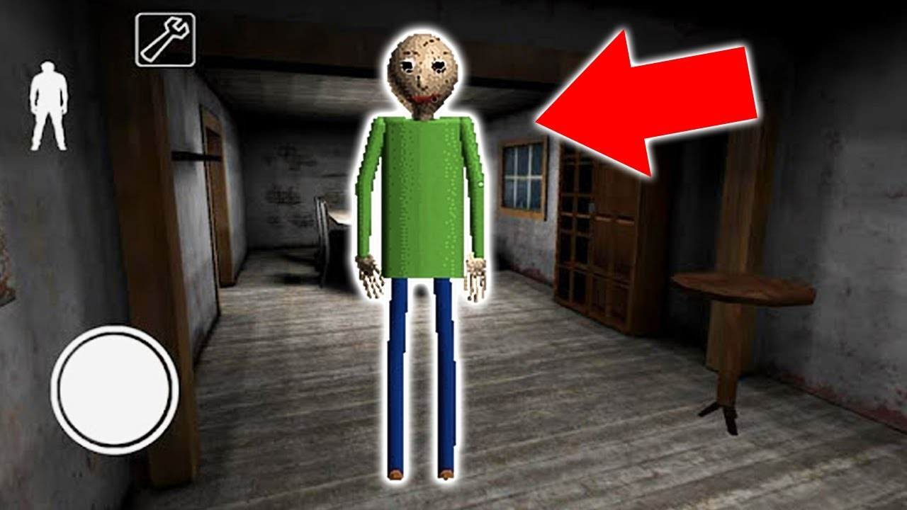 Baldi S Basics In Granny Horror Game Granny Horror Game Baldi