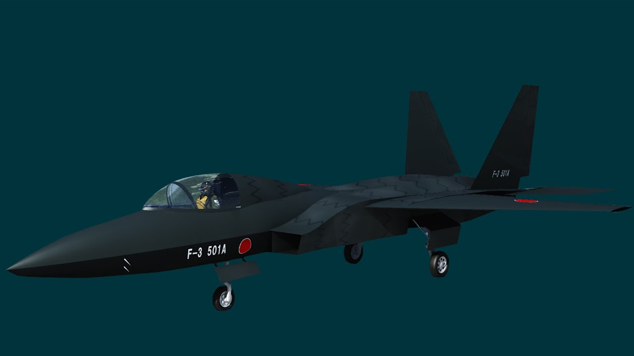 Japan's New F-3 super fighter jet will make China's J-20 obsolete