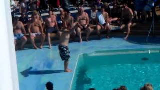 Royal Carribbean International Bellyflop Contest