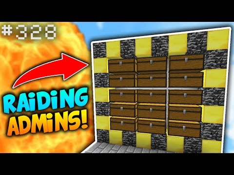 NO WAY I JUST RAIDED AN ADMIN BASE!! | Minecraft FACTIONS #328 (SaiCoPvP - Blaze Realm)
