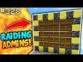 NO WAY I JUST RAIDED AN ADMIN BASE!!   Minecraft FACTIONS #328 (SaiCoPvP - Blaze Realm)