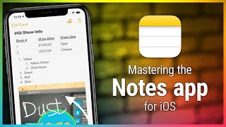 Notes for iOS - What You Need to Know About the Built-In Text Editor on Your iOS Device