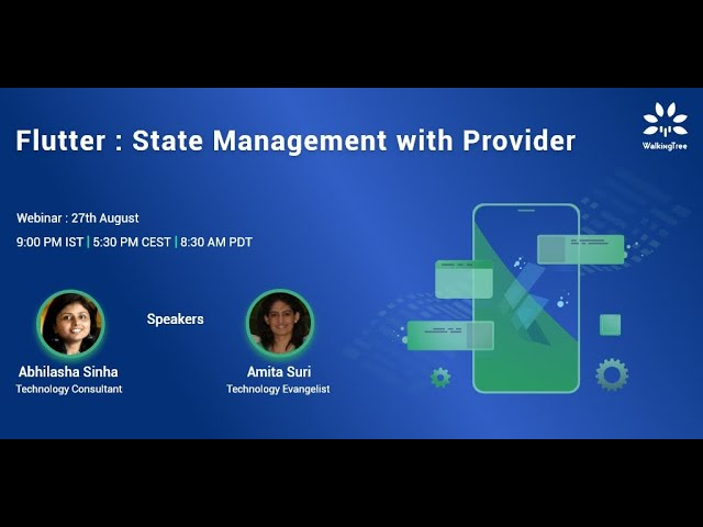 Flutter: State Management with Provider | WalkingTree Technologies