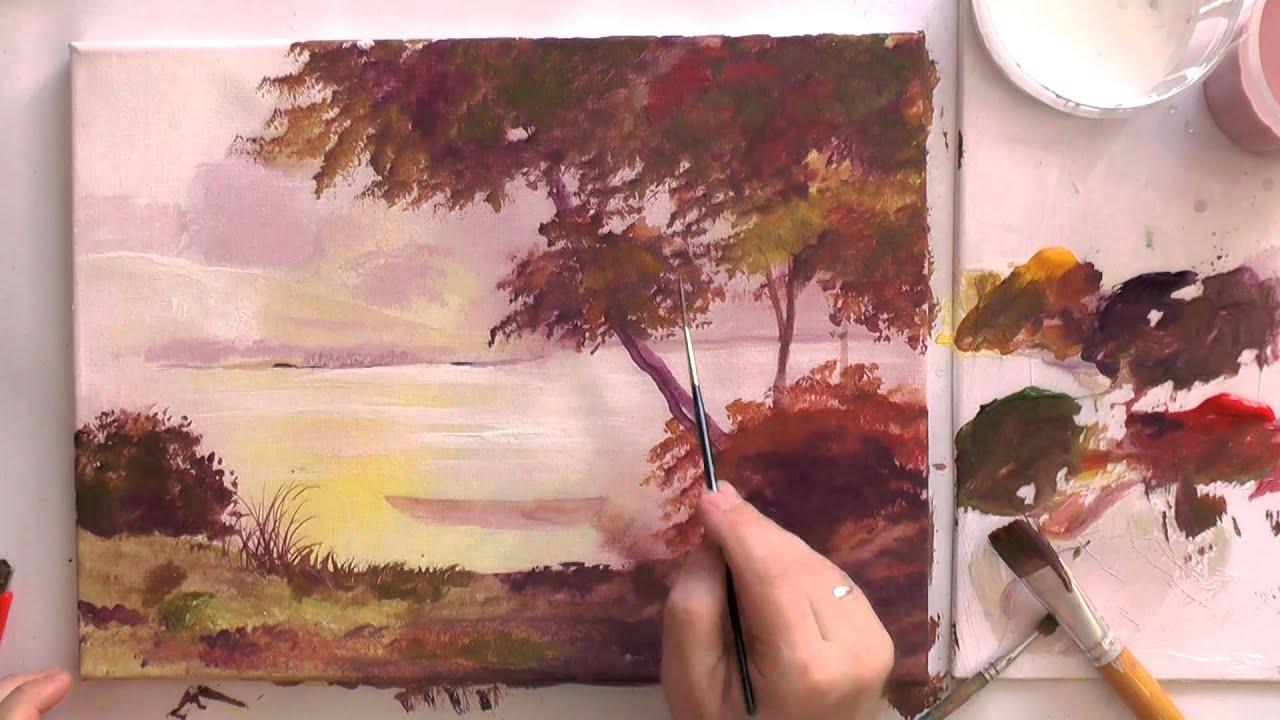 Как рисовать акриловыми красками поэтапно