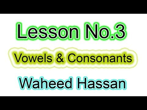 urdu se english seekhain how many types of english alphabets lesson number 3 by WAHEED HASSAN