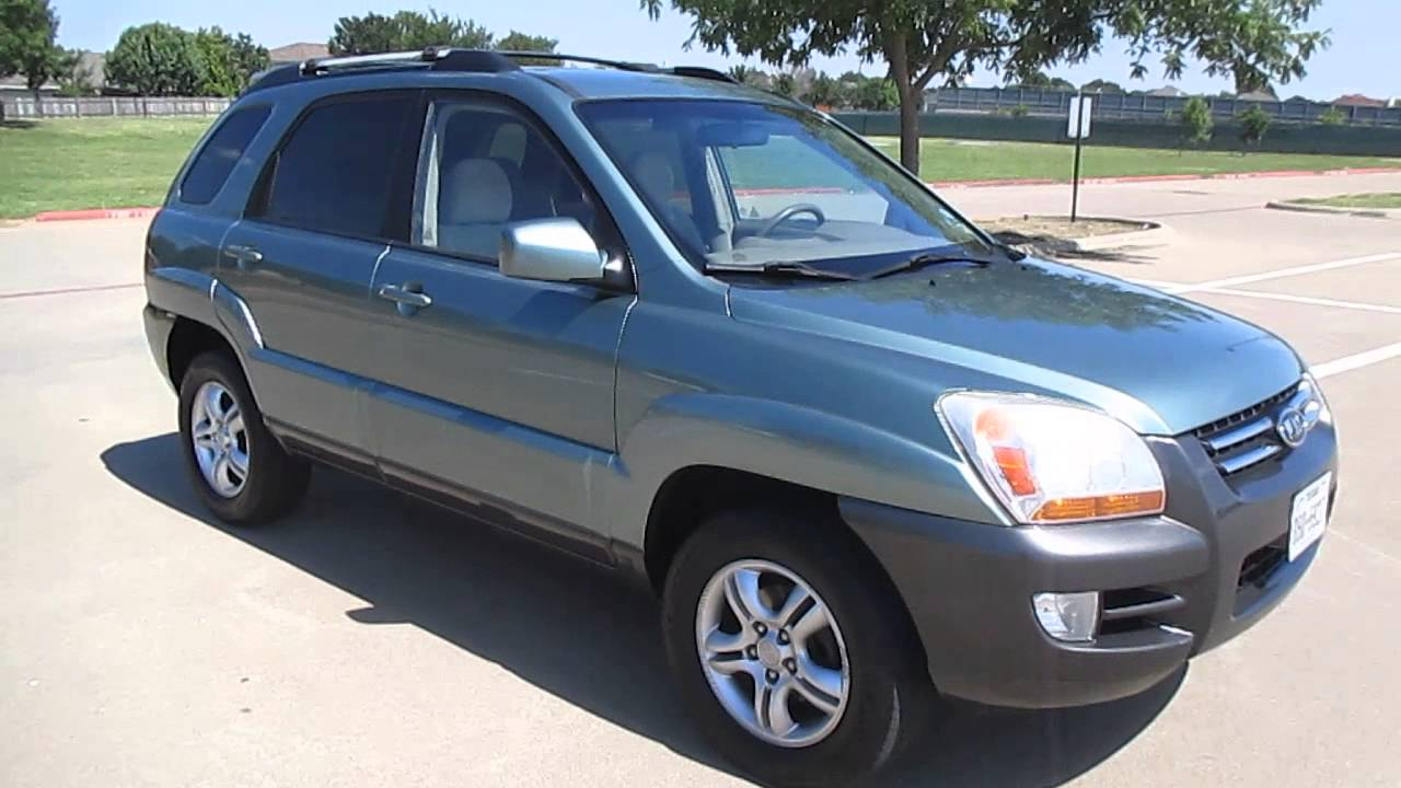 2005 kia sportage suv ex automatic 1 owner like new youtube. Black Bedroom Furniture Sets. Home Design Ideas