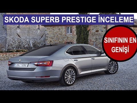 Skoda Superb Prestige İnceleme-Review(English Subtitled) | Redline Türkiye
