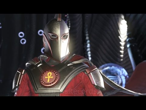 Injustice 2 - All Doctor Fate Intro Dialogues!