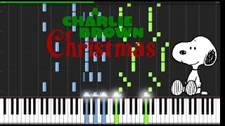 Charlie Brown - Christmas Time is Here [PIANO]
