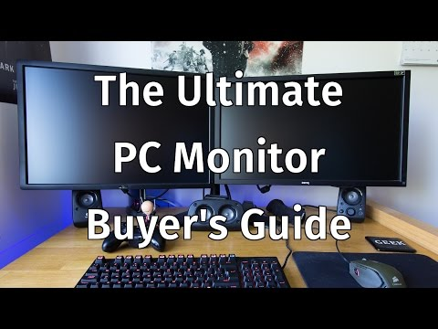 The Ultimate PC Monitor Buyer