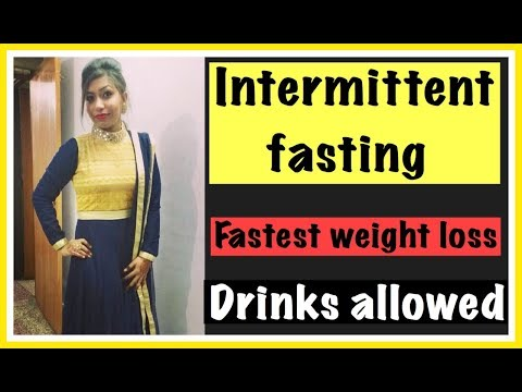 intermittent-fasting-for-fast-weight-loss-|-drinks-allowed-in-fasting-|-azra-khan-fitness