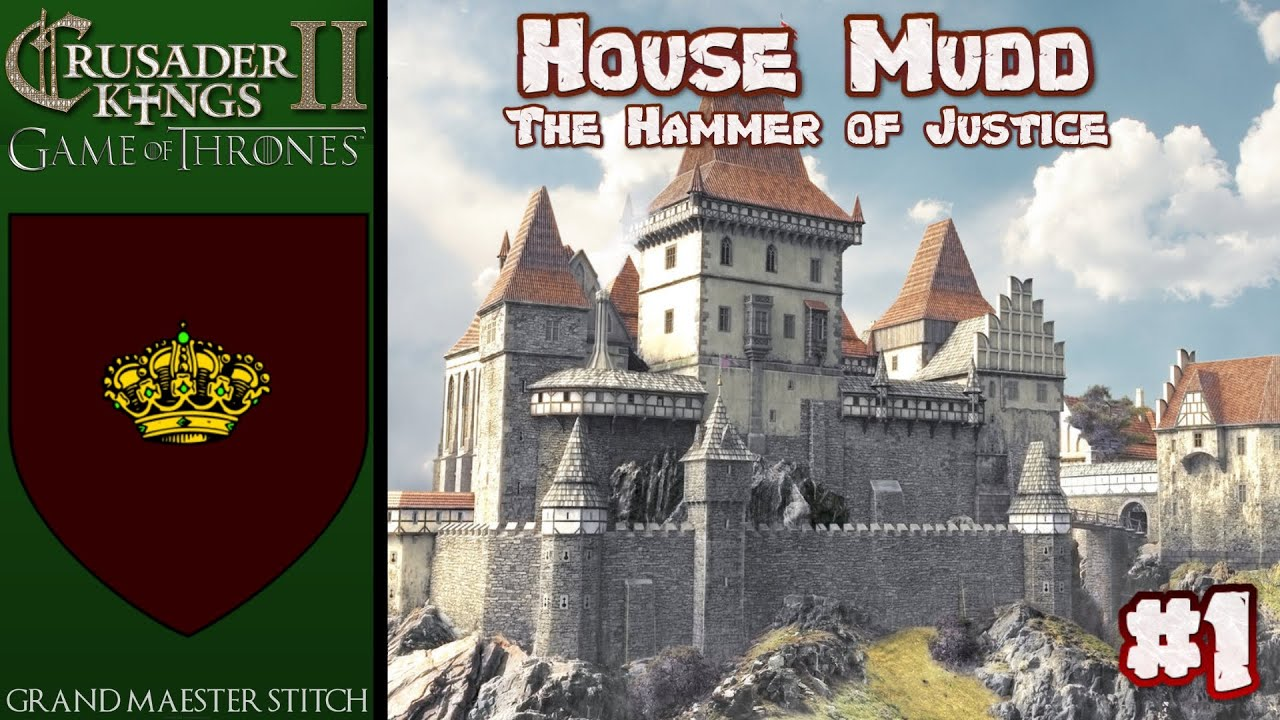 CK2 Game of Thrones | House Mudd #1 Kings of the rivers and the hills