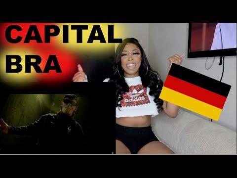 REACTING TO CAPITAL BRA - BERLIN LEBT (PROD.BY THE CRATEZ | Ashley Deshaun