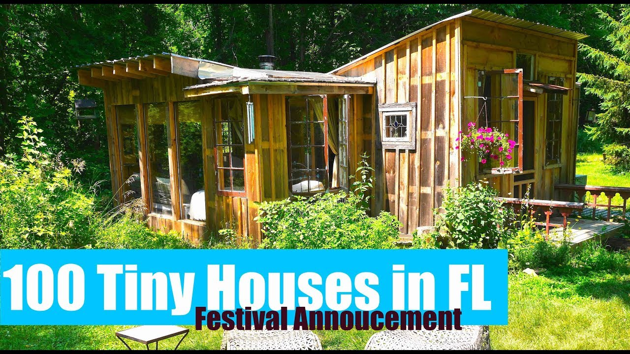 100 tiny housestiny dwellings announced for florida event - Tiny Dwellings
