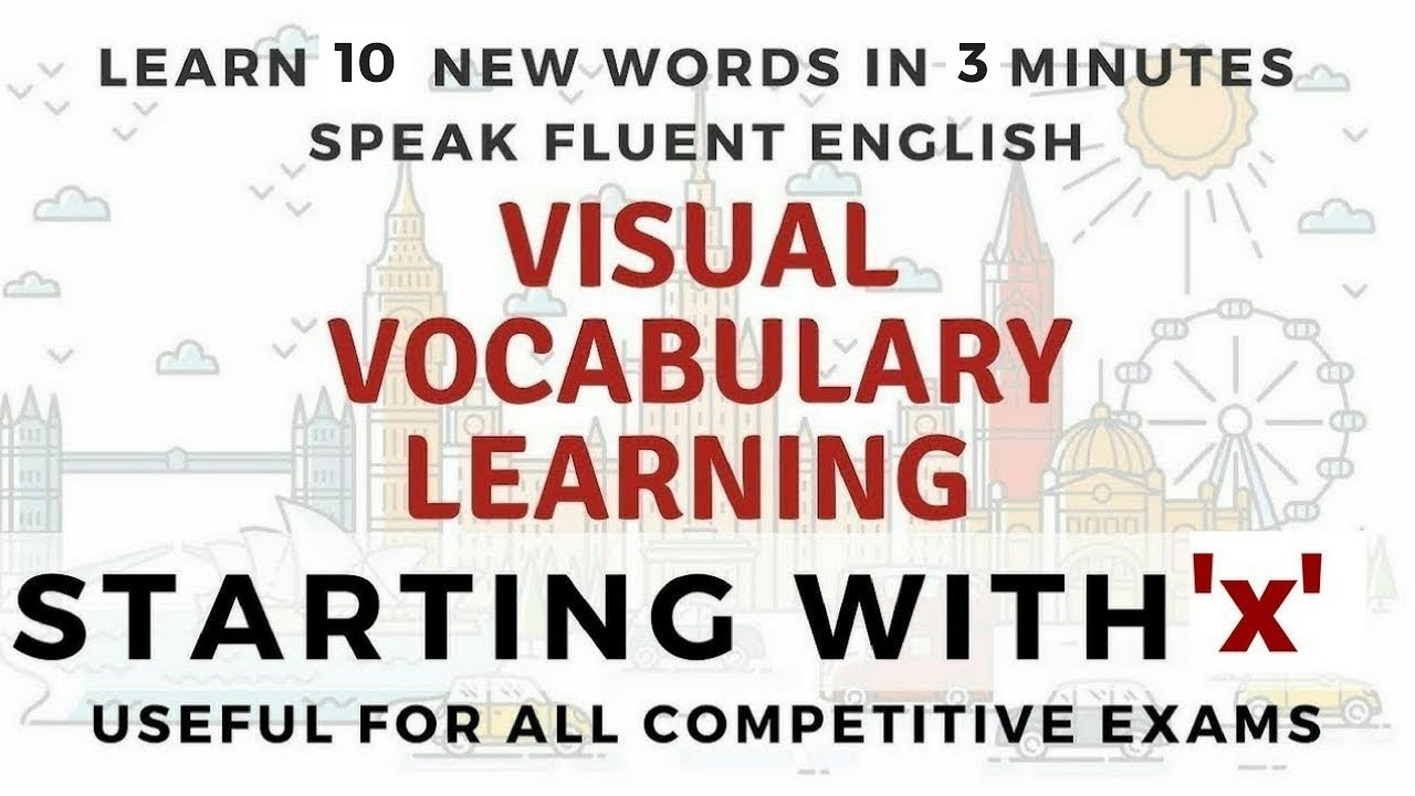 Visual Vocabulary Learning Learn 10 New Words In 3 Minutes