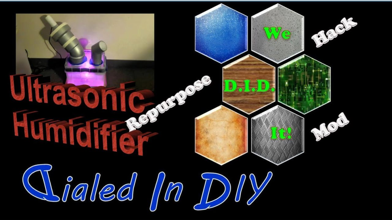 Make an Ultrasonic Humidifier   #0932C2