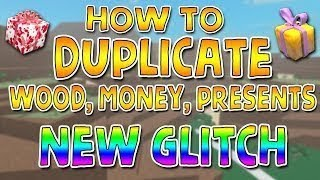 NEW SOLO MONEY AND ITEMS DUPE GLITCH : Lumber Tycoon 2 : RoBlox