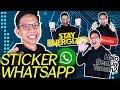 Cara Buat Sticker Whatsapp Personal Dengan Wajah Kita Sendiri!