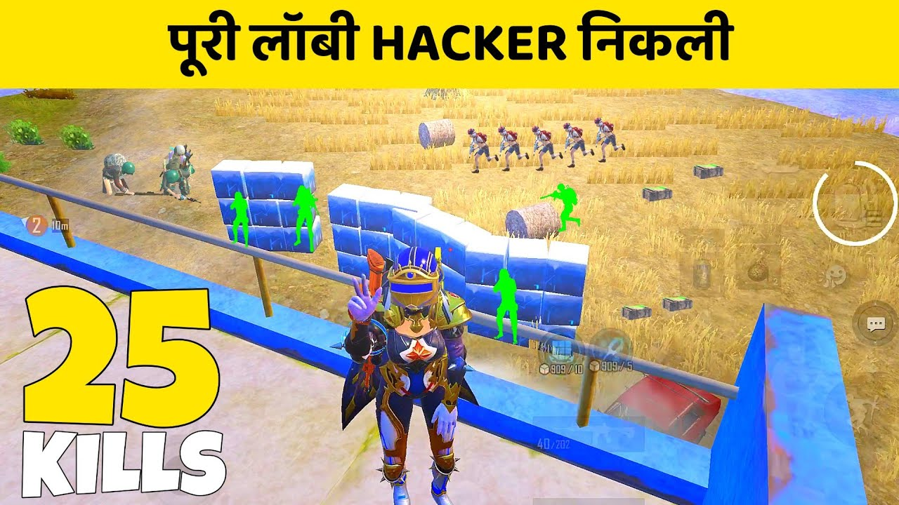 ? Puri Ki Puri Lobby Hacker Nikli | Solo Vs Squad | Pubg Mobile Gameplay #135