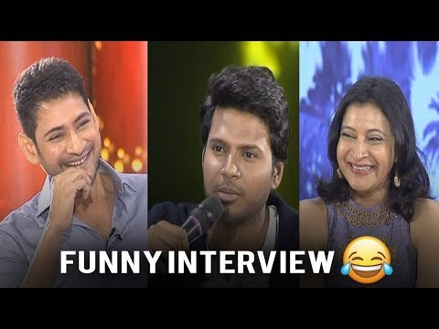Mahesh Babu Funny Interview with Manasuku Nachindi Movie Team | TFPC