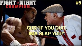 "ONE ARM FIGHT! (FUNNY ""FIGHT NIGHT CHAMPION"" GAMEPLAY #5"